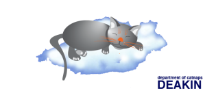 Cat-on-cloud-sign-no-sky