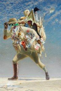 2012 Tim Storrier, artist The histrionic wayfarer (after Bosch), title